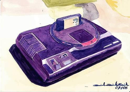 Mega Drive -  Genesis by Daniel Ribeiro
