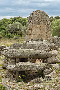 Megalithic Tomb of Giants in Sardinia by Patricia Hofmeester
