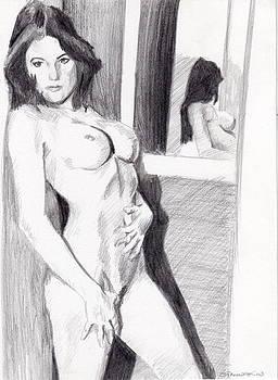 Megan-Mirror by Stephen Panoushek