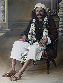 Meher Baba by Nad Wolinska