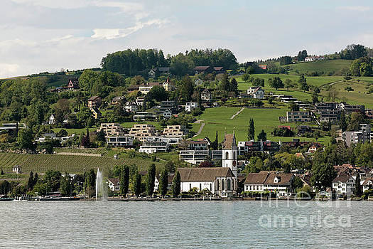 Meilen on Zurichsee Switzerland by Louise Heusinkveld
