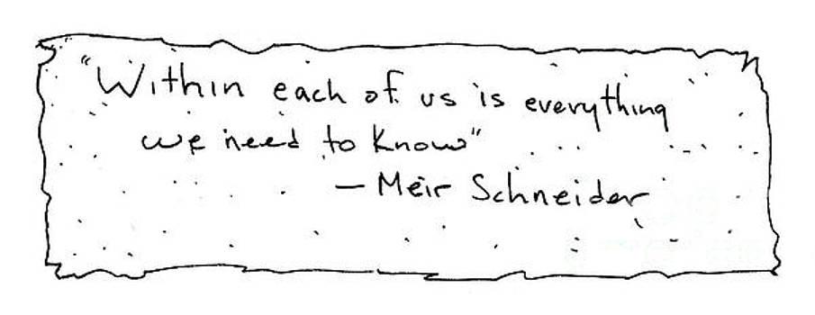 Meir Schneider by Michael Mooney