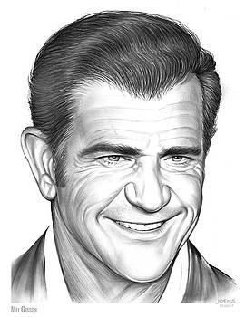 Mel Gibson by Greg Joens