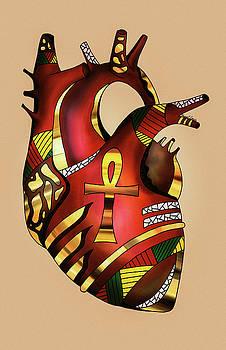 Melanin Heart by Kenal Louis