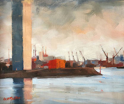 Melbourne Docklands by Roz McQuillan