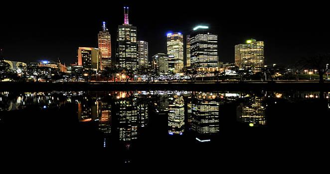 Melbourne Reflections by John Kowalski