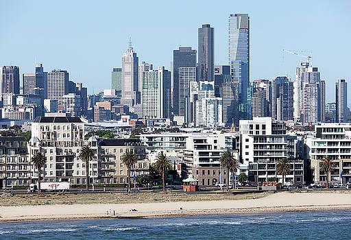 Ramunas Bruzas - Melbourne Skyline