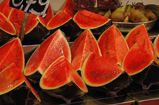 Melon by the Slice by Al Junco