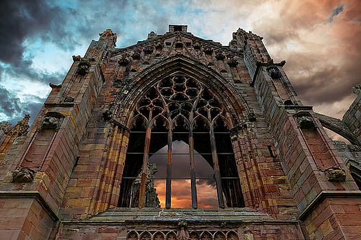Melrose Abbey by Scott Hill