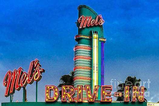 Mels Drive In by Gary Keesler