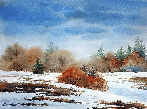 Melting Snow by Varvara Harmon