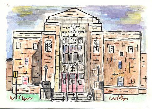 Memorial Auditorium  by Matt Gaudian
