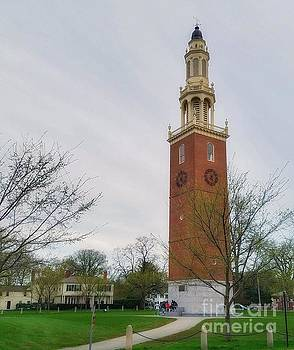 Memorial Bell Tower, Phillips Academy, Andover by Mary Capriole