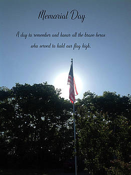 Memorial Day Card 0102 by Ericamaxine Price
