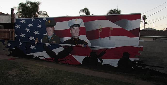 Memorial Mural by Steven Gutierrez