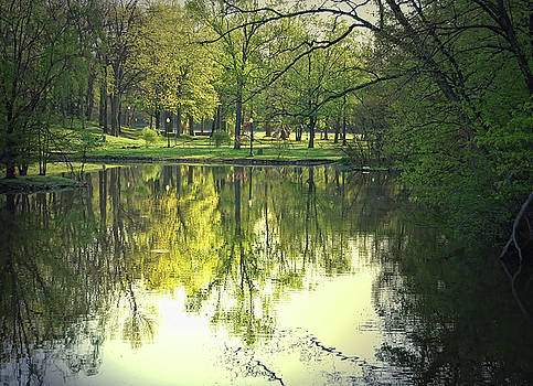 Memorial Park Lagoon by Mark Orr