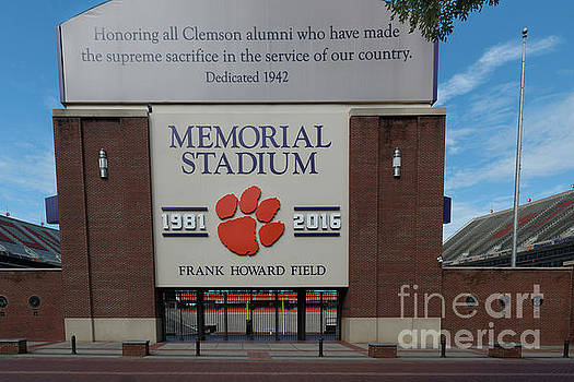 Memorial Stadium by Dale Powell