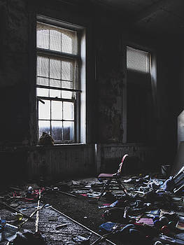 Memories - Abandoned Classroom by Dylan Murphy