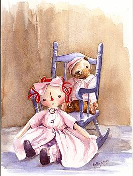 Memories Of Childhood by Kathy  Karas