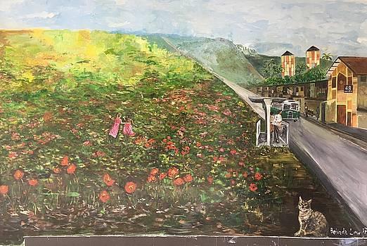 Memories of Commonwealth - Wall II by Belinda Low