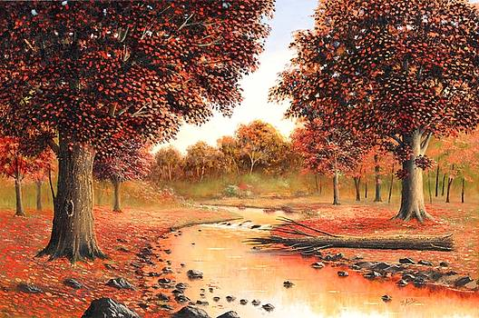 Memories of Fall by Suresh Chakravarthy
