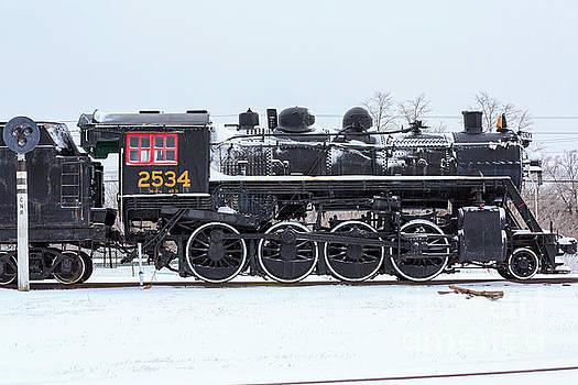 Memory Junction Railway Museum in Brighton Ontario by Louise Heusinkveld