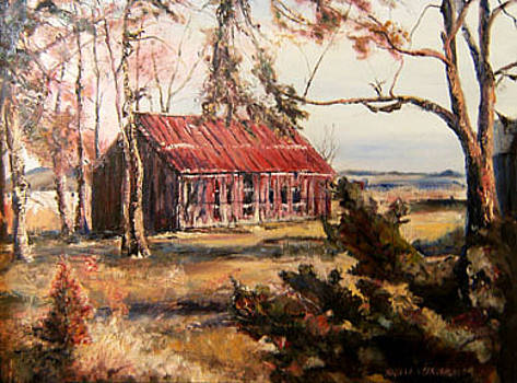 Memory of a Barn by Angela Craver