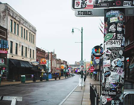 Memphis Beale Street by Sonja Quintero