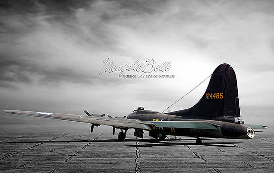 Memphis Belle Boeing B-17 Flting Fortress by Peter Chilelli