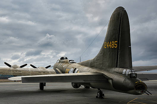 Memphis Belle in Color by Chris Buff