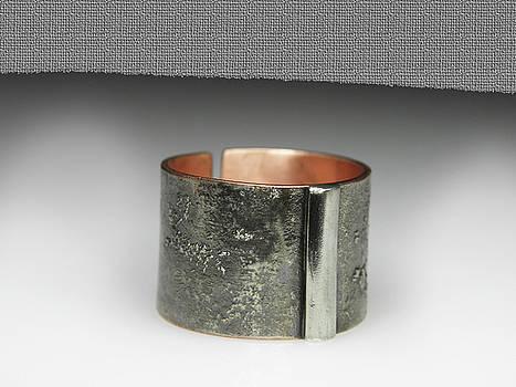 Men Adjustable Ring by Vesna Kolobaric