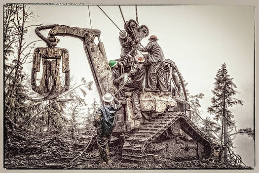 Men At Work by Rod Stroh