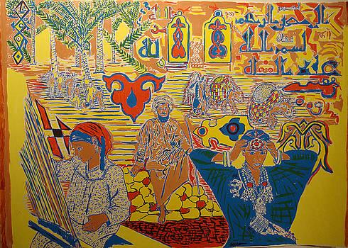 MENA scene  colored by Biagio Civale