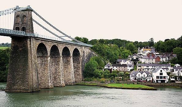 Svetlana Sewell - Menai Bridge over river