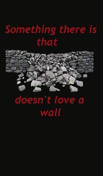 Mending Wall transparent background by R  Allen Swezey