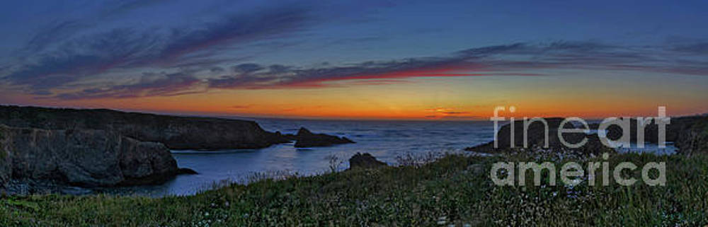 Mendocino Headlands Sunset by Along The Trail
