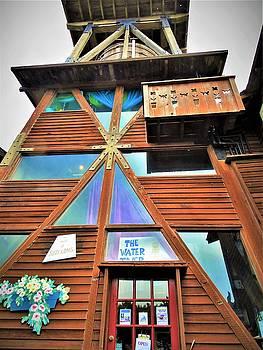 Lisa Dunn - Mendocino Water Tower