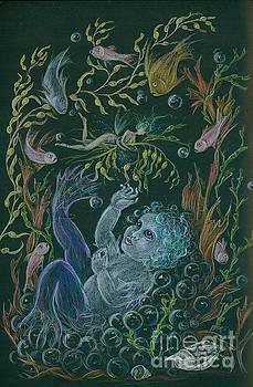 Merbaby Blue by Dawn Fairies