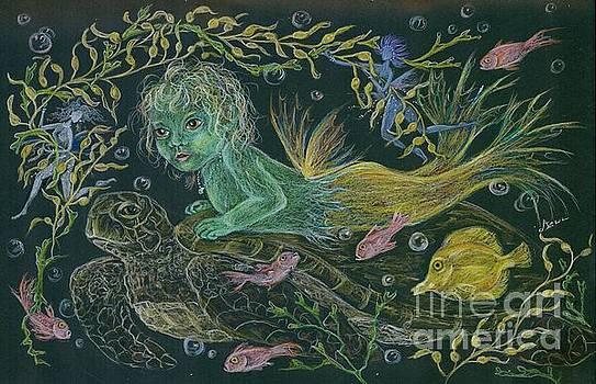 Merbaby Green by Dawn Fairies
