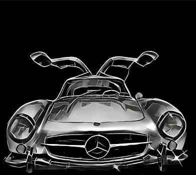 Mercedes Benz 300SL by Alan Thal