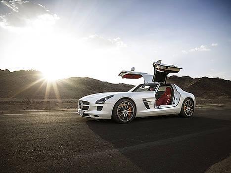 Mercedes Benz SLS AMG in Saudi Arabia by George Williams