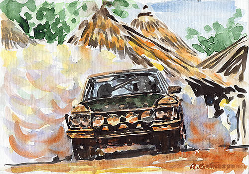 Mercedes Rally by Rimzil Galimzyanov
