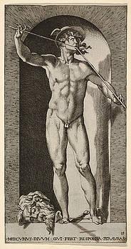 Giovanni Jacopo Caraglio - Mercury