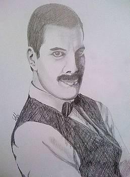Mercury portrait by Gyorgy Szilagyi