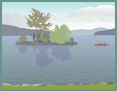 Meredith Bay by Marian Federspiel