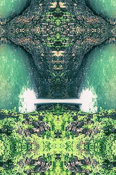 Merged Water Fall  by Hyuntae Kim