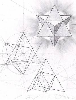 Merkabah Study II by Geoffroy Dextraze