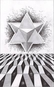 Merkabah study III by Geoffroy Dextraze