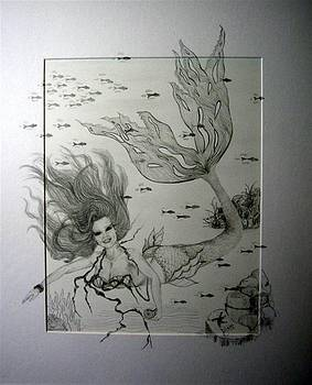 Mermaid 1 Heather by Dixie Hester