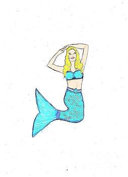 Mermaid 3 by Jennifer Capo